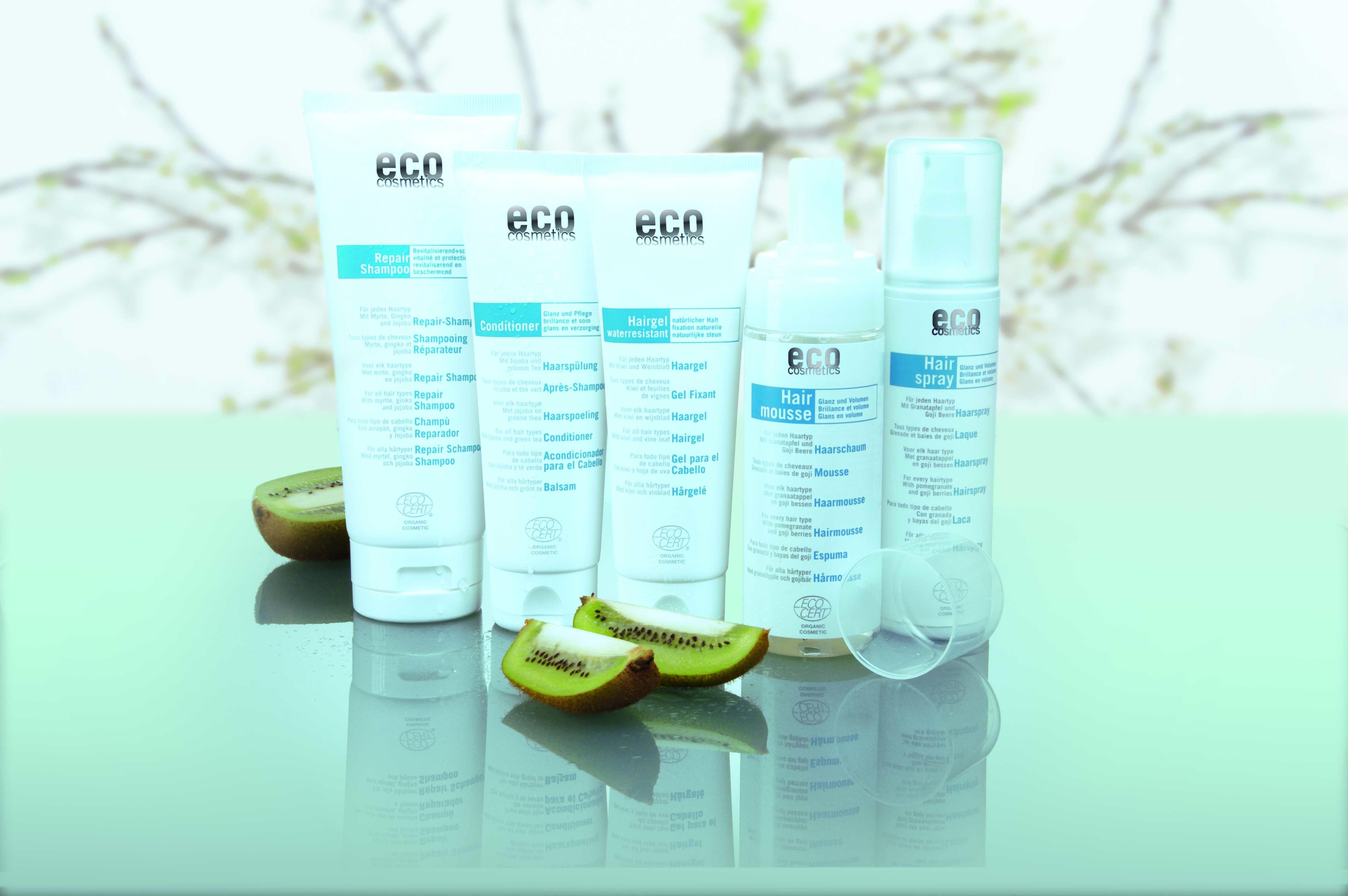 eco cosmetics hair care