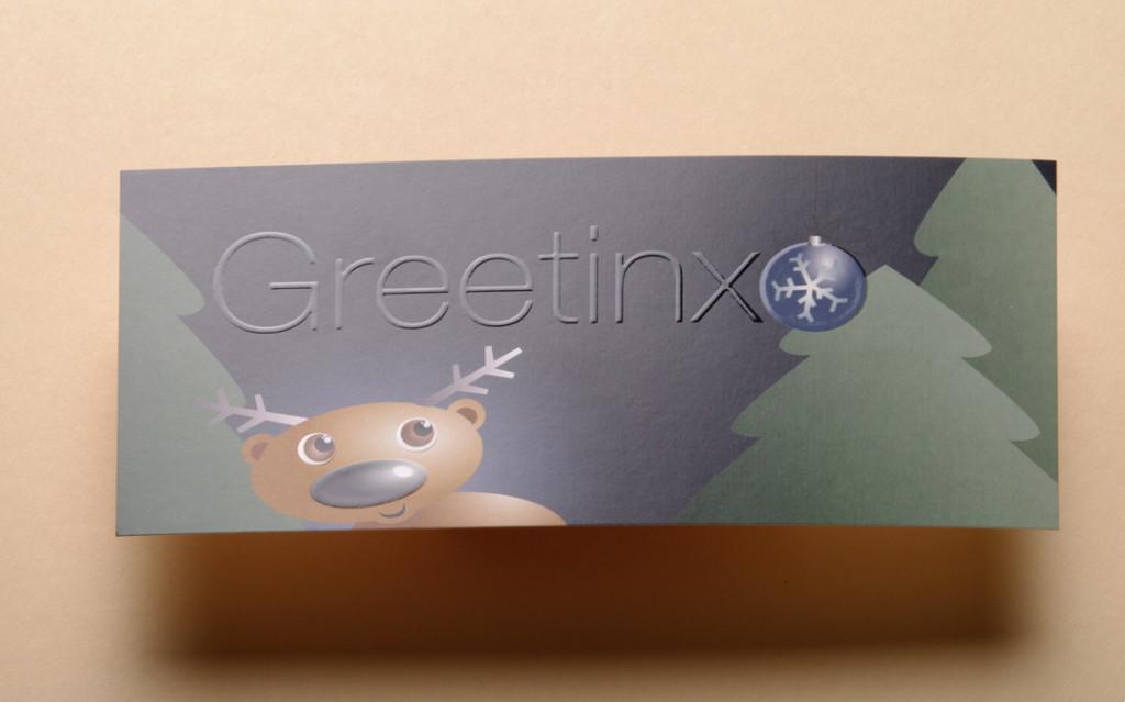 Postkarte Greetinx